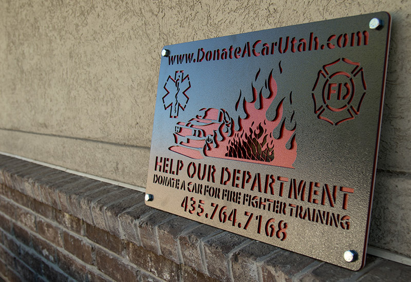 Laser Cut Metal Business Signs Superior Laser Cutting