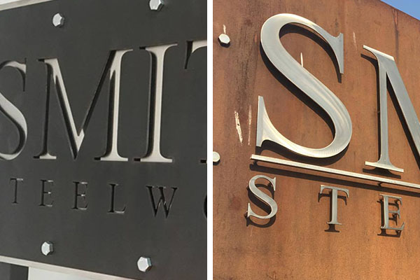 Laser Cut Metal Signs >> Laser Cut Metal Signs Superior Laser Cutting