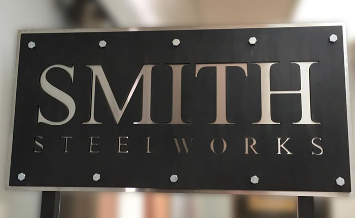 Custom Metal Indoor and Outdoor Signs - Superior Laser Cutting