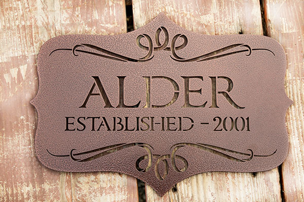 Custom Metal Indoor And Outdoor Signs Superior Laser Cutting